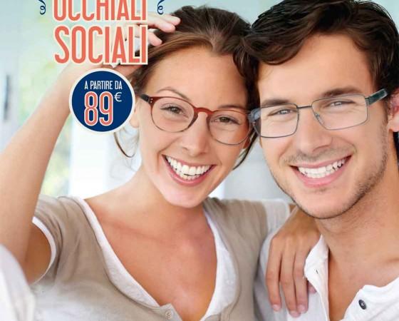 Campagna Occhiali sociali Oxo