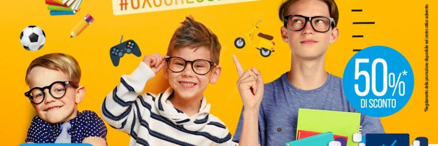 Anno nuovo, occhiali nuovi per i tuoi bambini.