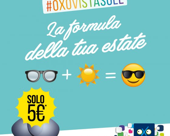 Promo Oxo Vista sole!